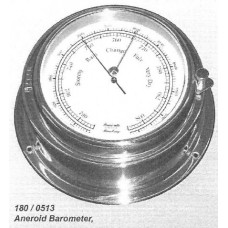 "HANSEATIC, P/N: 180/0513 BAROMETER, 6"" DIAL W/O THERMOMETER"