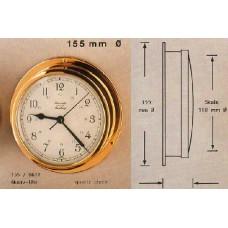 """HANSEATIC, P/N: 155/0611 MARINE CLOCK, 5"""" DIAL"""