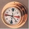 "HANSEATIC, P/N: 220/8111FS MARINE RADIO CLOCK, 6"" DIAL"