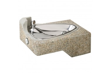 HAWS Barrier-Free Concrete Wall Mount Fountain MODEL: 1047