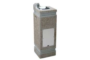 HAWS Concrete Pedestal Fountain MODEL: 3121