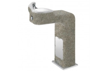 HAWS BarrierFree Concrete Pedestal Fountain MODEL: 3177