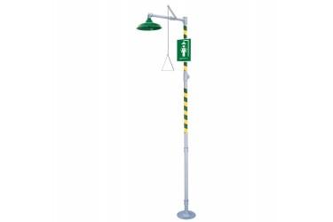 HAWS AXION MSR Floor Mount Emergency Drench Shower MODEL: 8100