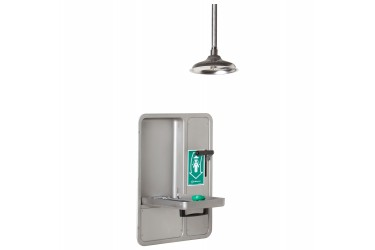 HAWS Barrier Free Recessed Eye/Face Wash and Shower MODEL: 8356WCC