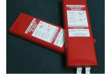 HEPTAFAB, MODEL: 430 FB FIRE BLANKET 4' X 6' BSI APPROVED