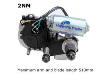 HEPWORTH 2NM MARINE WIPER MOTOR 12V, 75MM LINER