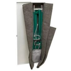 JUNKIN Easy-Fold Aluminum Pole Stretcher Kit JSA-655-NA