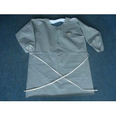 LAKELAND, C3T A730 APRON WITH LONG SLEEVE, GREY