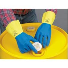 LAKELAND ECR27F CHEMICAL GLOVES, NEOPRENE, SIZE: 10