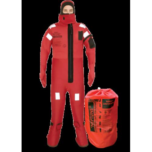 Lalizas Neptune Immersion Suit Size Universal Cw Tizip Solas
