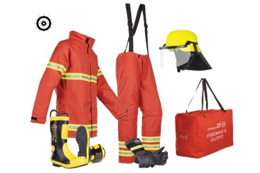 MULLION FIRE FIGHTER, COMPLETE, C/W: SOLAS / EN469 SIZE: XL