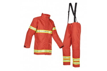 MULLION FIREMAN JACKET & TROUSERS, 531(1MI9) SIZE: XL