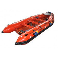 NARWHAL SV480 RESCUE BOAT C/W SOLAS ACCESSORIES, COMPLETE