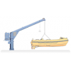 NED-DECK, Rescue Boat Slewing Davit