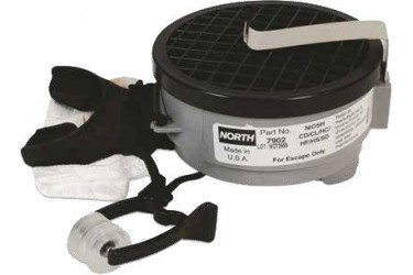 NORTH ACID GAS MOUTHBIT RESPIRATOR, 7902, HONEYWELL