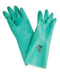 "NORTH, NITRILE GLOVES, 13""/15MIL, LA132G/9"