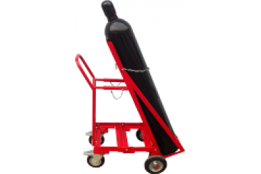RENT TROLLEY, C/W: 2 CYLINDER HOLDER