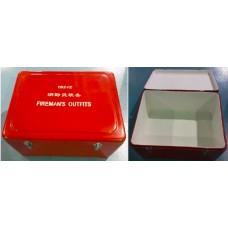 RS, FIBREGLASS STORAGE BOX, RED, 71(L) X 57(W) X 35(H) CM