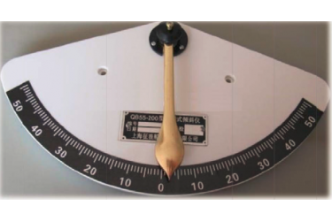 "RS, CLINOMETER , 6"" PVC PENDULUM TYPE, 55 - 0 - 55 DEG"
