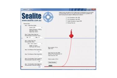 SEALITE SeaMoor™ Mooring Calculator - PC Simulator