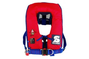 SECUMAR Survival Mini, 150N inflatable lifejacket for small children (15–30 kg)