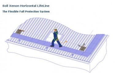 SOLL SYSTEMS, XENON HORIZONTAL LIFELINE