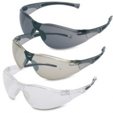 SPERIAN PN 100022 VL1-A, GRAY TEMPLES, SILVER MIRROR LENS SAFETY GLASSES BY HONEYWELL,PREV. PULSAFE