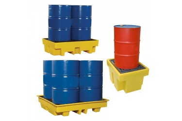 SPILL STATION, SPILL CONTAINMENT PALLETS