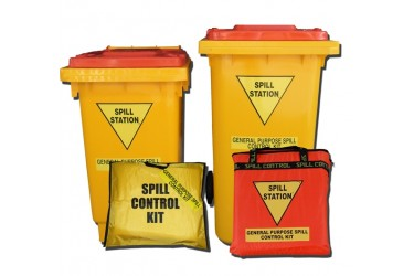 SPILL STATION, GENERAL PURPOSE SPILL KIT, POLY