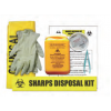 SPILL STATION, LABORATORY AND MEDICAL SPILL KIT, SHARPS COLLECTION KIT