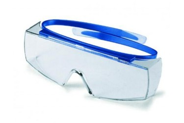UVEX, 9169-065 SUPER-OTG, NAVY BLUE, LENS: PC CLEAR
