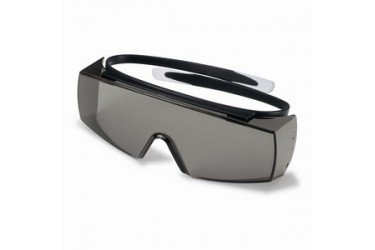 UVEX, 9169-081 SUPER-OTG, BLACK, LENS: PC GREY