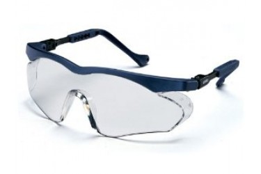 UVEX, 9197-835 SKYPER SX2 SPECTACLE,BLUE, LENS:THS CLEAR, CB