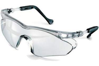 UVEX, 9197-880 SKYBRITE SX2 SPECTACLE,SILVER, LENS: PC CLEAR