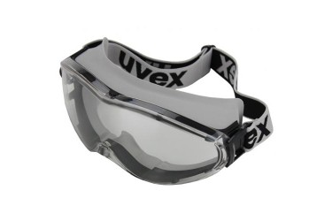 UVEX, 9302-285 ULTRASONIC GOGGLES, GREY/BLACK, PC CLEAR