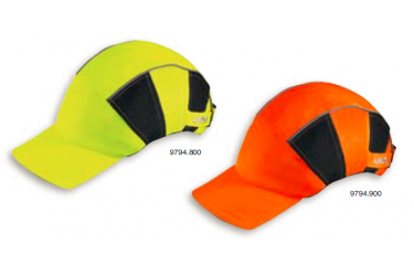 UVEX, BUMP CAPS, u-cap hi-viz