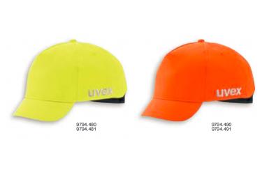 UVEX, BUMP CAPS, u-cap sport hi-viz