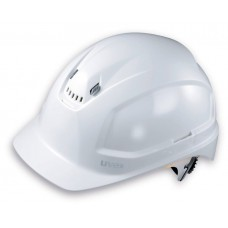 UVEX, PHEOS B-WR, LONG BRIM, VENTED, SAFETY HELMET, WHITE, 9772 039