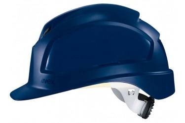 UVEX, PHEOS B-WR, LONG BRIM, VENTED, SAFETY HELMET, BLUE, 9772 539