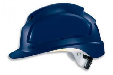 UVEX, PHEOS E-WR, LONG BRIM, NON-VENTED, SAFETY HELMET, BLUE, 9770 534
