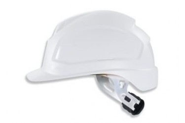 UVEX, PHEOS E-WR, LONG BRIM, NON-VENTED, SAFETY HELMET, WHITE, 9770 034