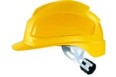 UVEX, PHEOS E-WR, LONG BRIM, NON-VENTED, SAFETY HELMET, YELLOW, 9770 134