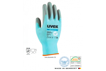 UVEX, MECHANICAL, PHYNOMIC C3, 60080
