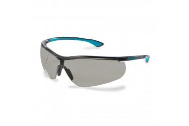 UVEX, 9193-277,SPECS, SPORTSTYLE , GREY LENS, BLACK/BLUE/BLACK
