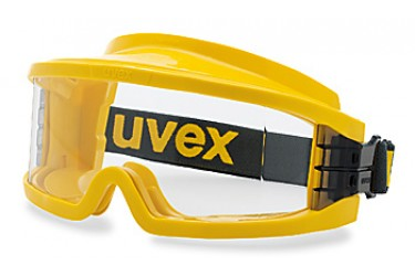 UVEX, 9301-613 ULTRAVISION,YELLOW, GAS TIGHT, GOGGLE, CLEAR