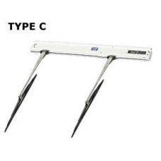 WYNN TYPE C STRAIGHT LINE WIPER, TWIN BLADE, COMPLETE